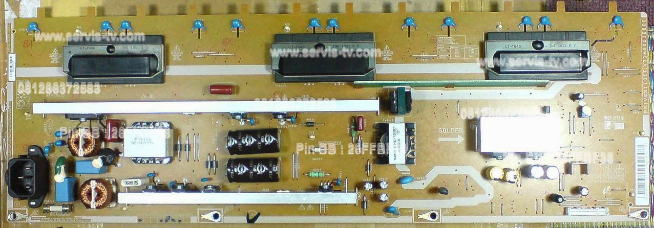 Power Supply Toshiba 40AV700E PSIV231101T/V71A00016600