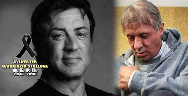 Muerte de Sylvester Stallone conmocionó las redes sociales