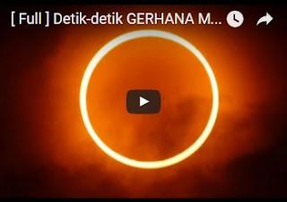 Kumpulan Video Detik-detik Gerhana Matahari Total Lengkap Berbagai Wilayah Indonesia Tahun 2016