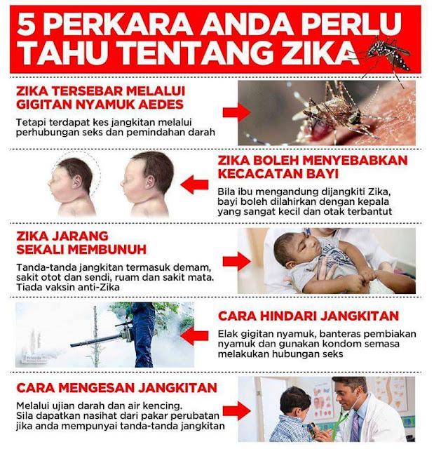 5 Perkara Anda Perlu Tahu Tentang Virus Zika Dan Cara Hindari Jangkitan
