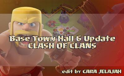 Desain pertahanan Base Trophy, Hybrid dan War TH 6 Clash Of Clans terbaik