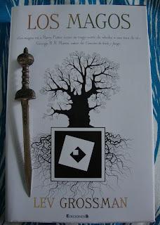 Portada del libro Los magos, de Lev Grossman