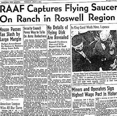 Today in Southern History: The Roswell Incident Report