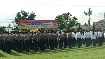 Polres Lampung Timur Deklarasi Anti Hoax dan Anti Ujaran Kebencian