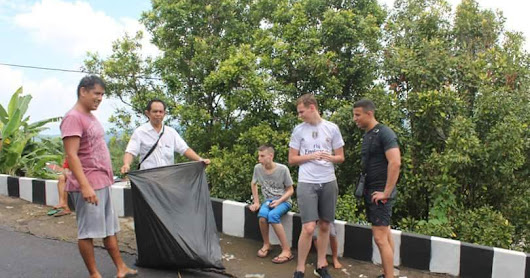 Community Routine Activities to Green bali