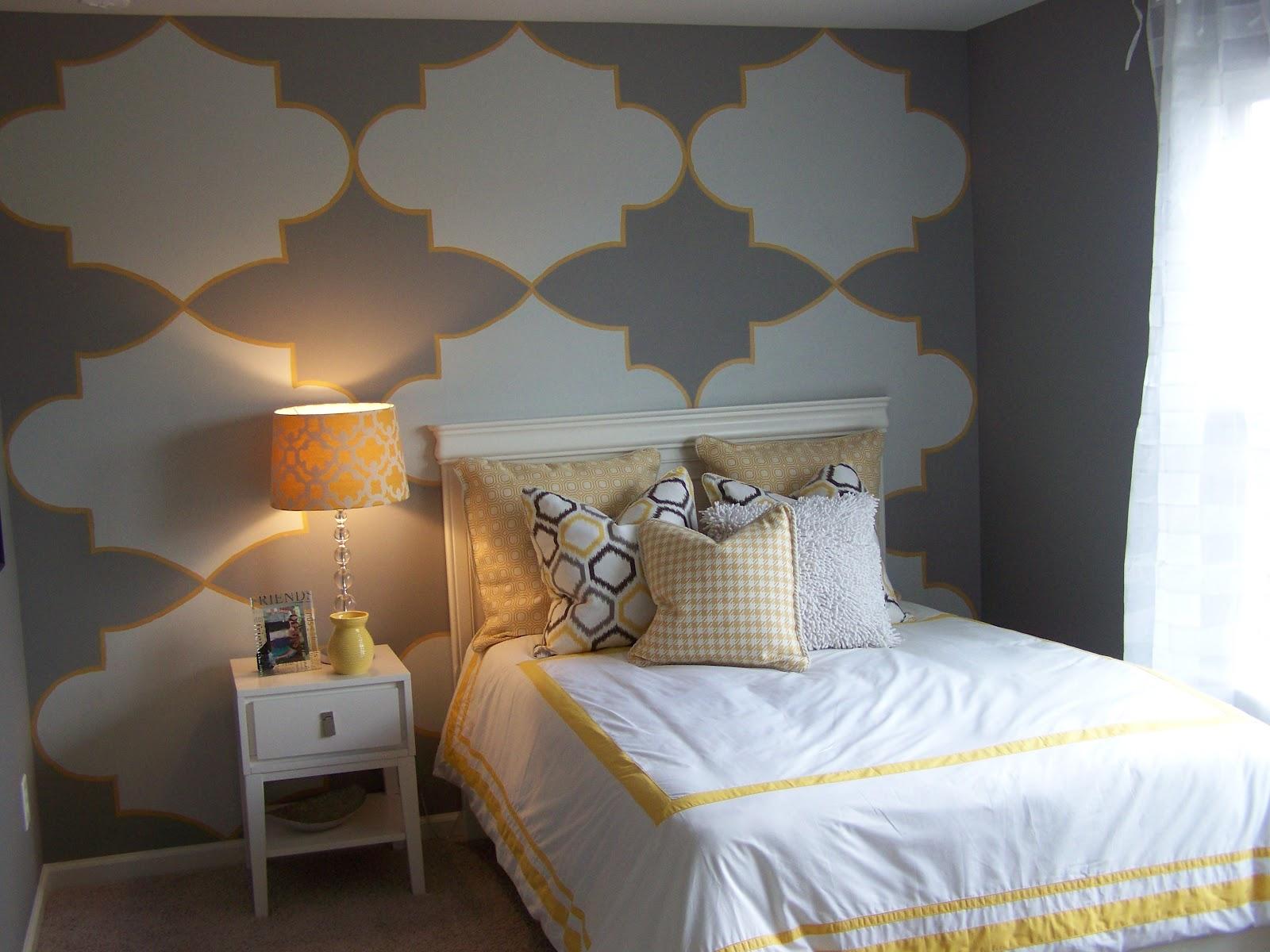 Gray and Yellow Teen/Tween Room - Design Dazzle