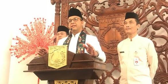 Anies bantah telah kirim surat minta izin ke Jokowi maju Pilpres
