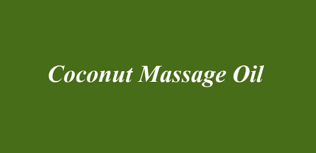 Coconut Massage Oil