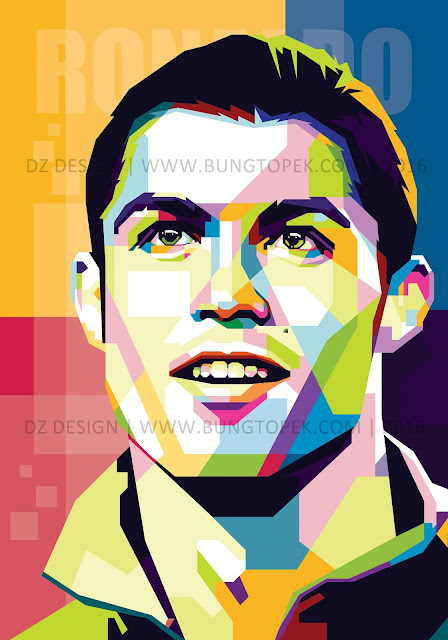 WPAP Cristiano Ronaldo