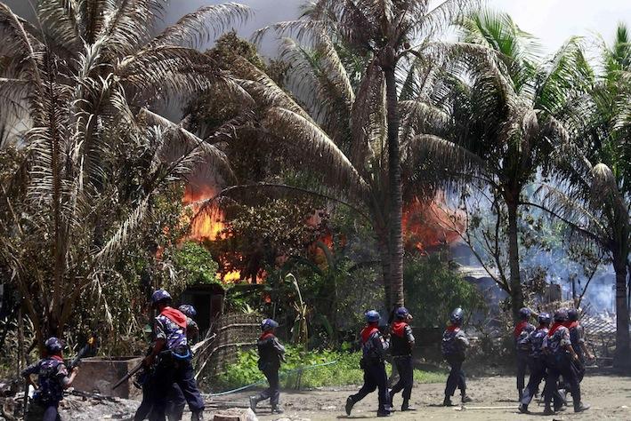 AS Hukum Tentara dan Polisi Myanmar Terkait Rohingya