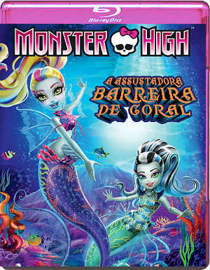 Baixar MH111 Monster High: A Assustadora Barreira de Coral BDRip XviD & RMVB Dublado Download