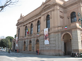 Teatro Donizetti was built on the site of Teatro Riccardi