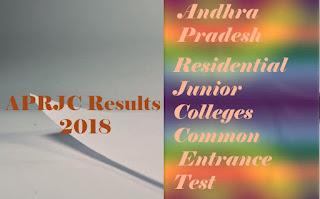 APRJC CET Results 2018 | APRJC CET 2018 Results | APRJC CET Result 2018 | APRJC Selection list 2018