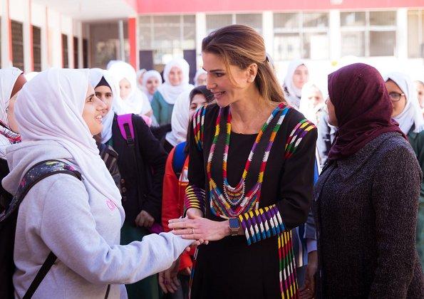 Jerash Women Charitable Society and Lubaba Bint Al Hareth Secondary School in Jerash