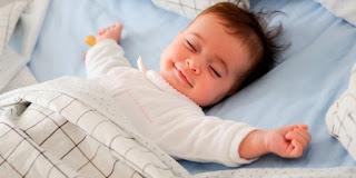 Tips agar bayi tidur nyenyak dan pulas