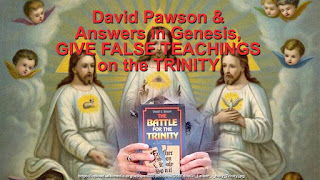 David Pawson ADMITS in his video teaching on the TRINITY there are THREE GODS, contradicting the word of GOD.