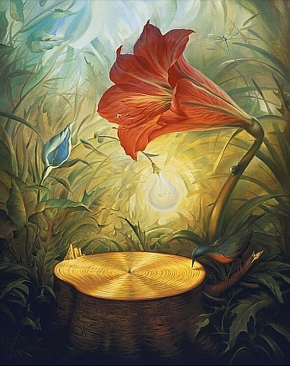 05-Music-of-the-Woods-Vladimir-Kush-www-designstack-co