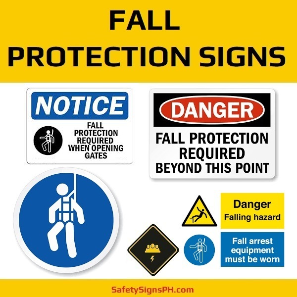 Fall Protection Signs Philippines