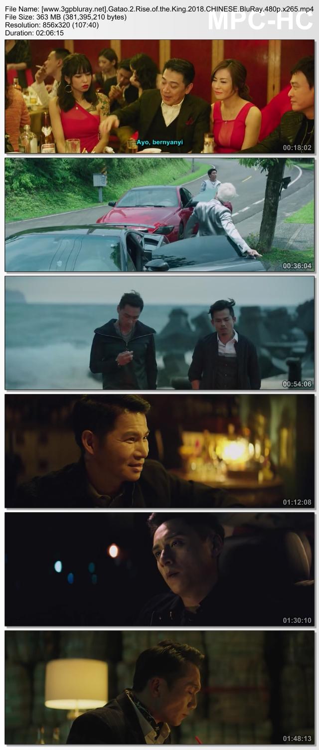 Screenshots Download Gatao 2: Rise of the King (2018) BluRay 480p & 3GP Subtitle Indonesia