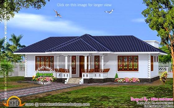 House plan Kerala style
