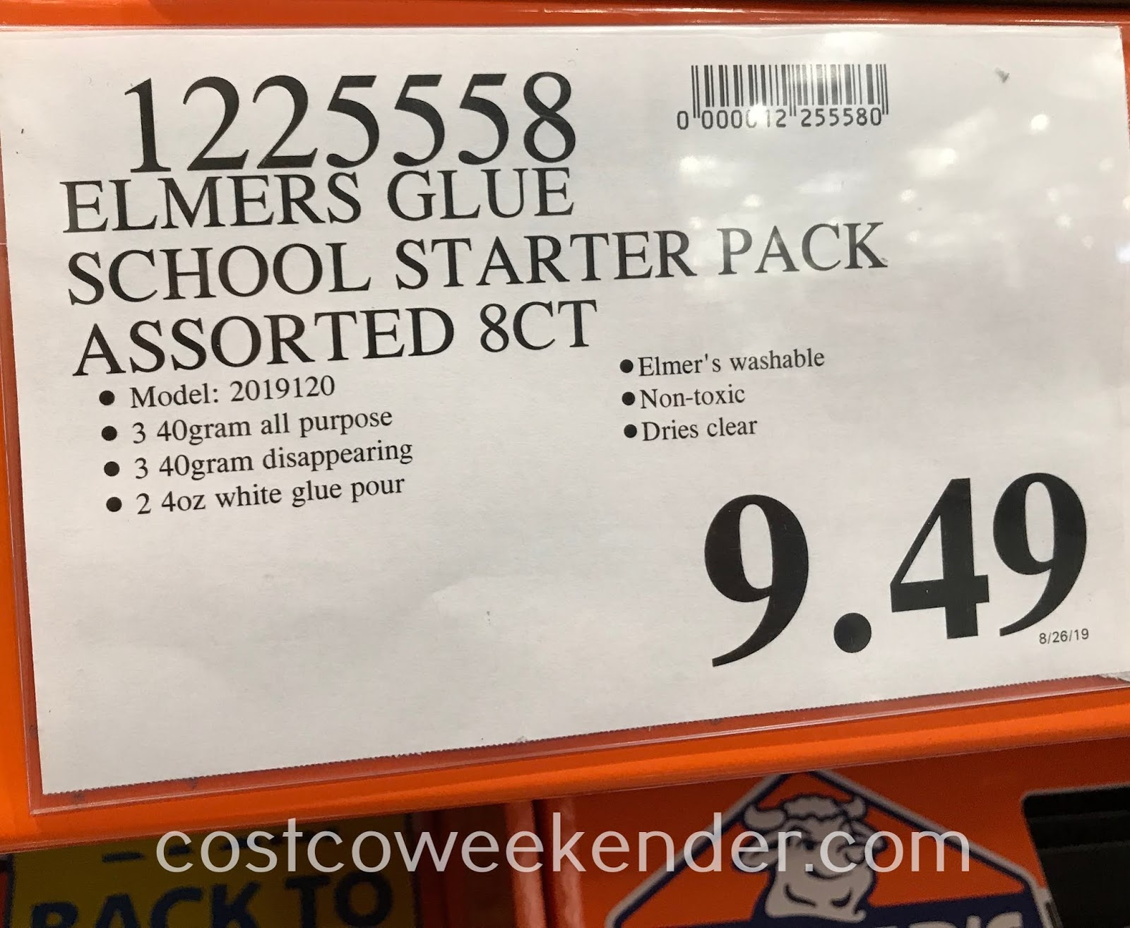 Deal for the Elmer's Glue School Starter Pack at Costco