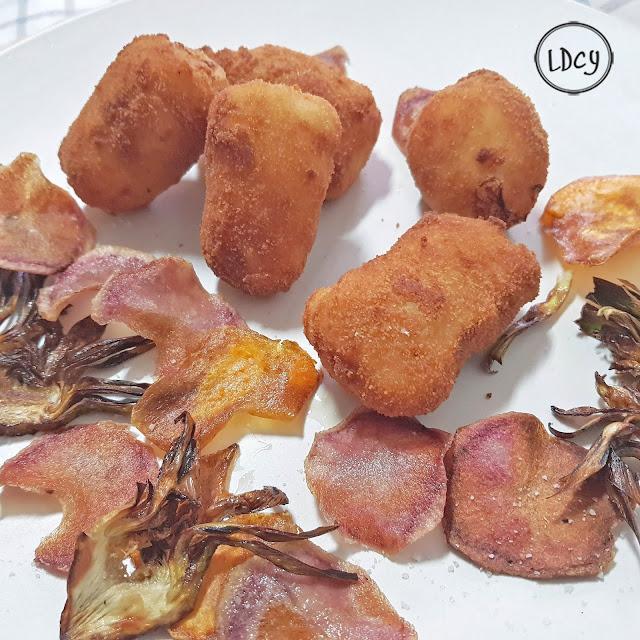 Croquetas De Langostinos/ Shrimps Homemade Croquettes