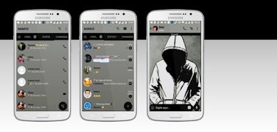 Anonymous Theme For GBWhatsApp By Leideh