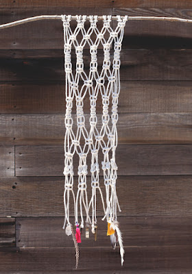 image modern macrame diy tutorial wall hanging boho feathers homewares