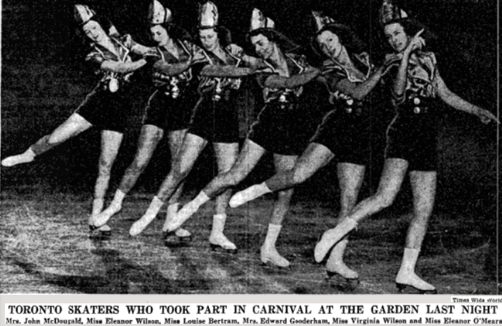 Petticoat drill team or twilers for dancers skaters