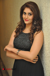 Actress Surabhi Stills in Black Long Dress at turodu Audio Launch  0024.JPG
