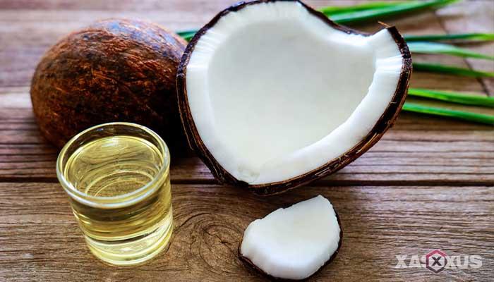 Cara menghilangkan bekas luka di wajah dengan minyak kelapa