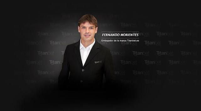 Fernando Morientes, nuevo embajador de Titanbet.es