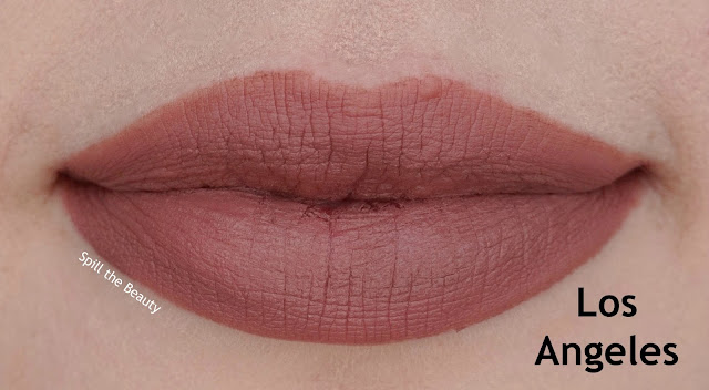 NYX Soft Matte Lip Cream los angeles Review, and Swatches
