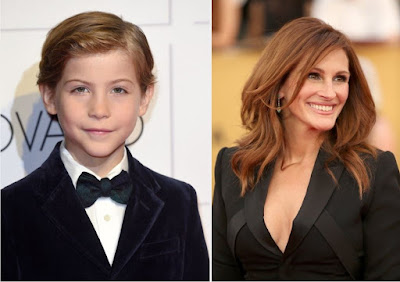 Atores Jacob Tremblay e Julia Roberts