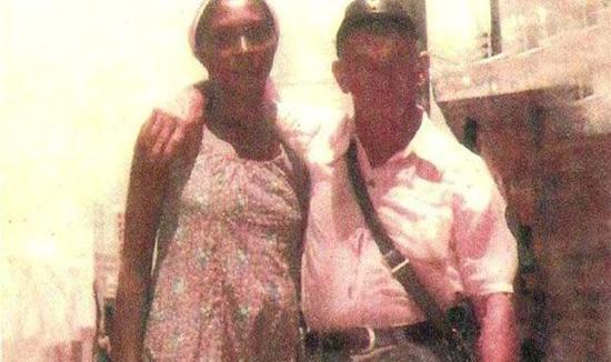 Hitler no Brasil - Suposta foto de Hitler e sua esposa