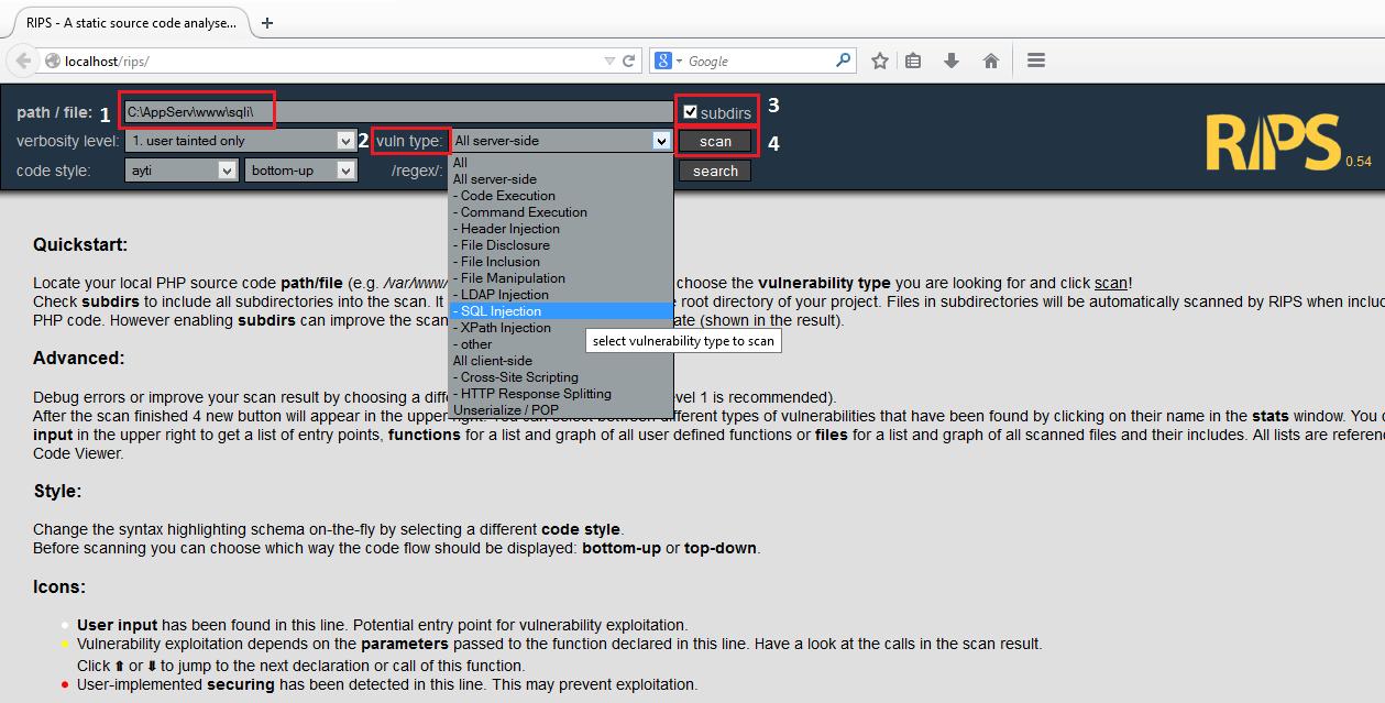 SQL Injection - PHP Scriptlerde SQLi Tespiti ve Exploit Etme 6
