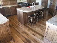 keuken met vinyl vloerbedekking