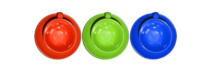 variação de cores de um logotipo RGB