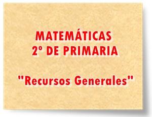 Juegos actividades interactivas y materiales de Matemáticas de 2º de Primaria