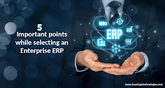 5 important points while selecting an Enterprise ERP