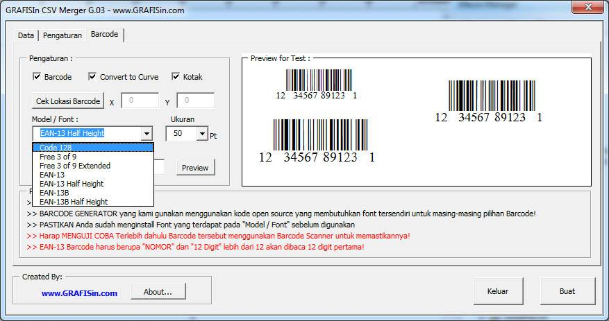 Versi 5 : Update Macro CSV Merger (Data ID Card Otomatis) - GRAFISin