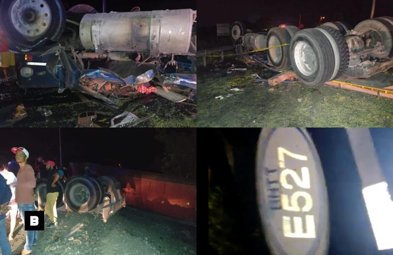 Video: Choque entre camión y patana deja cinco muertos en Azua