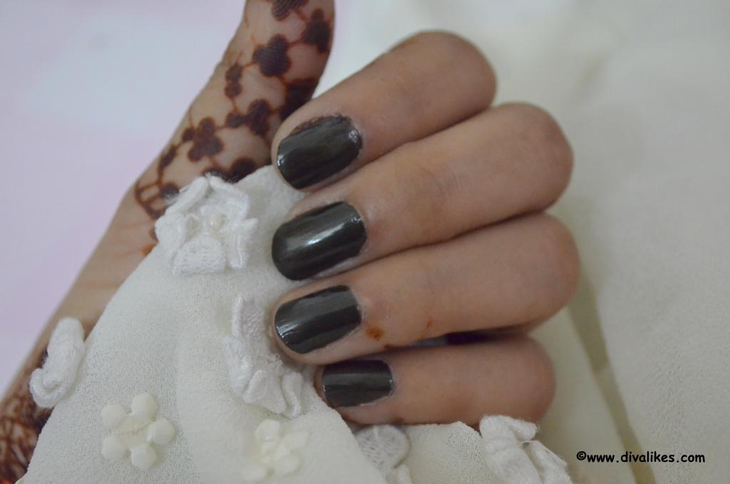 Makeup Revolution Nail Polish Maybe Tonight Review | Diva Likes