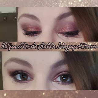 Cranberry Smokey Eye