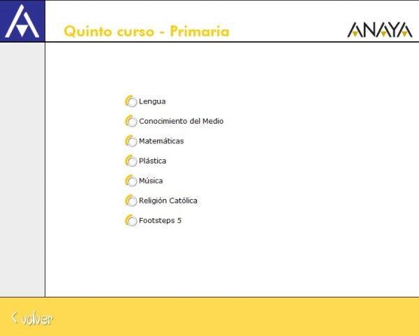 """""""Recursos Didácticos Interactivos Anaya 5º Primaria"""""""