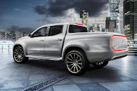 Mercedes-Benz Concept X-Class 'Explorer' (2016) Rear Side