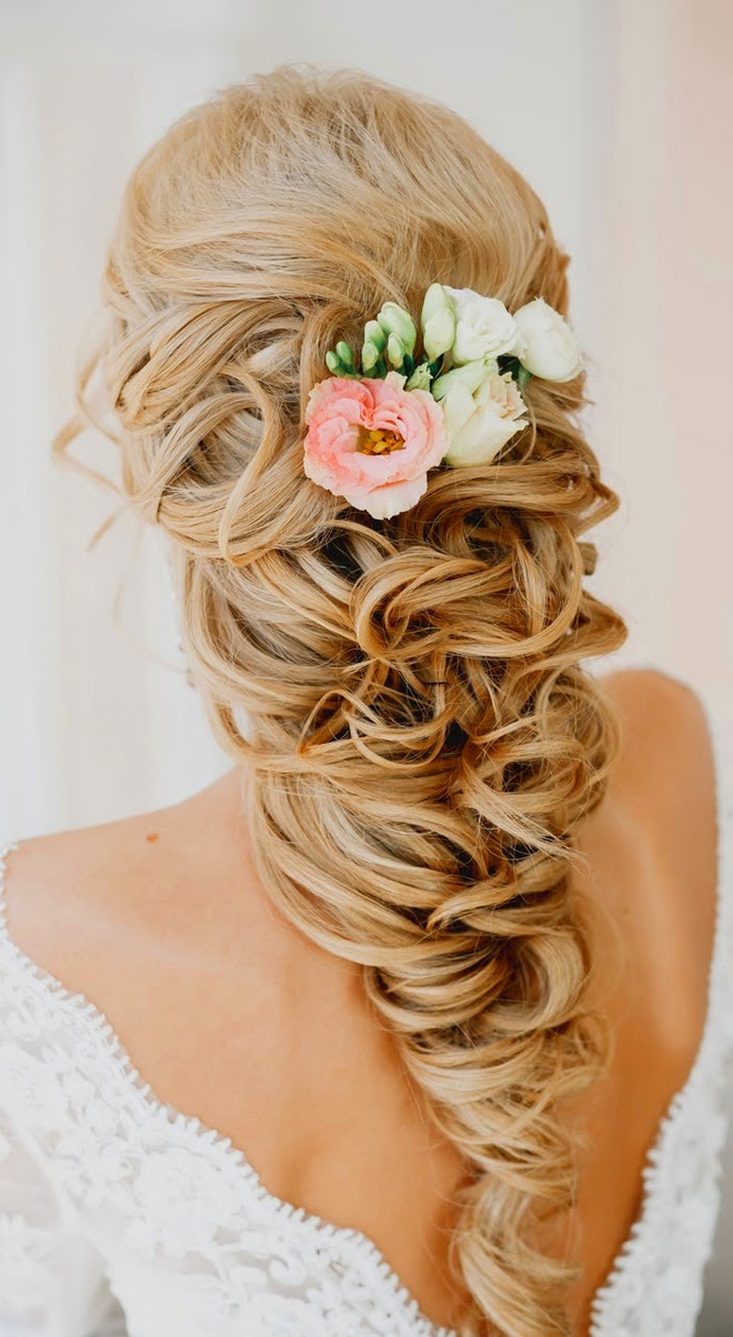 Peachy Best Wedding Hairstyles Of 2014 Belle The Magazine Short Hairstyles For Black Women Fulllsitofus
