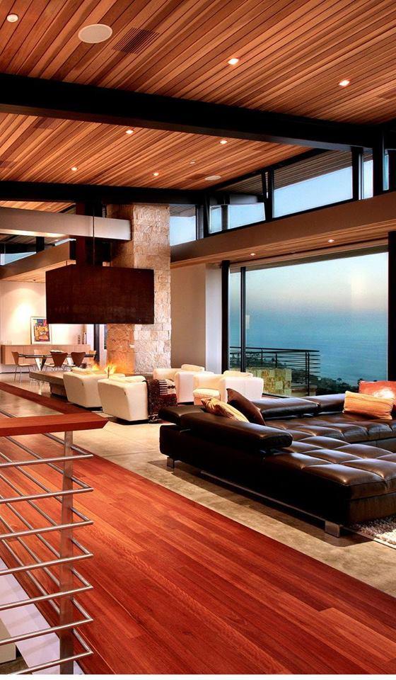 Modern Rustic Wood Interior Designs