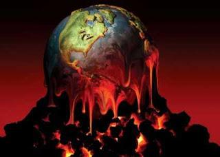 planeta tierra caliente