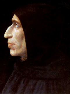 Painting of Girolamo Savonarola